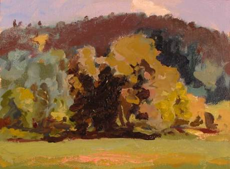 Garry Oaks plein air