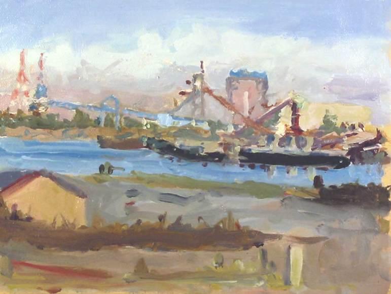 Wilamette Port Scene 2
