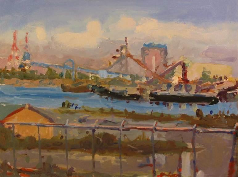 Wilamette Port Scene Finished camera