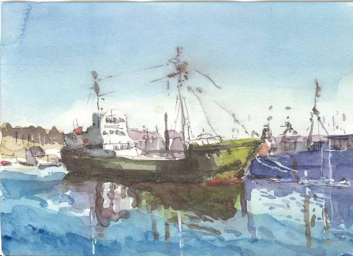 Dock at Newport