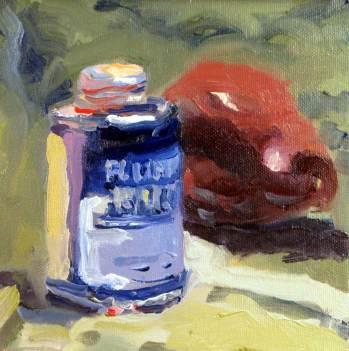 Blue Glue and pear - final
