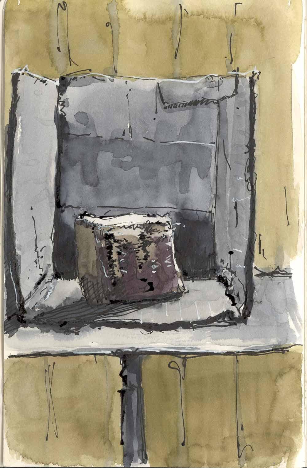 Gouache Bill Sharp Paintings