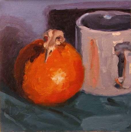 orange w skull awb