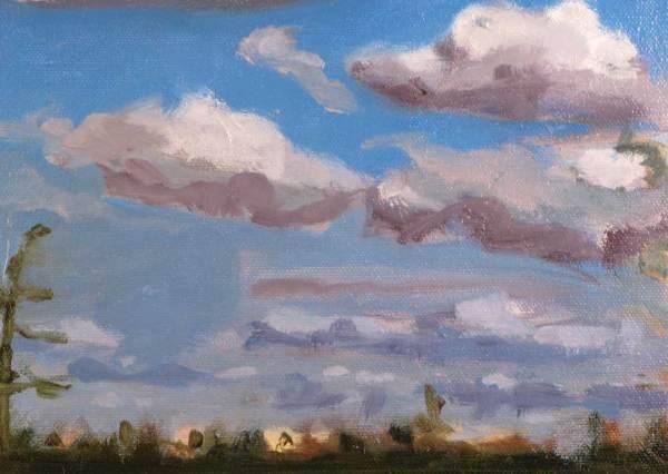March sky cloud study