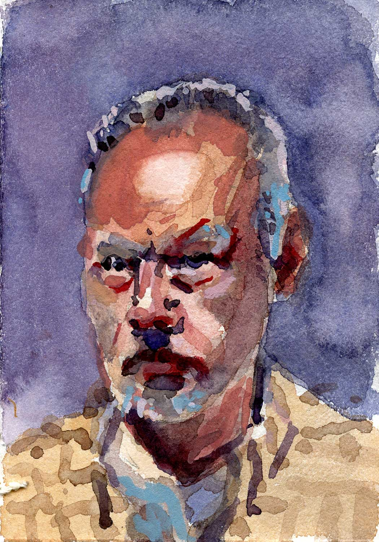 Self portrait – Bill Sharp – paintings blog