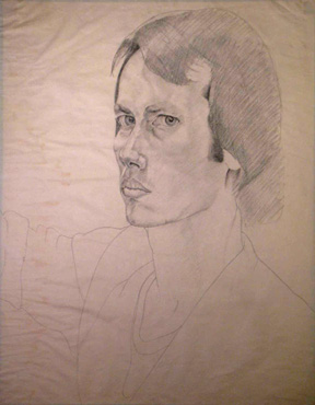 Self Portrait at age 23
