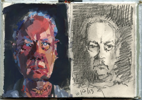 2-portrait sketches-10-12-13