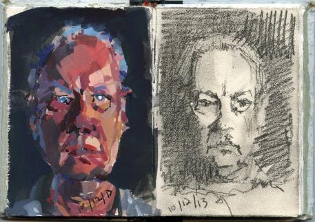 2-portrait sketches-10-12-13