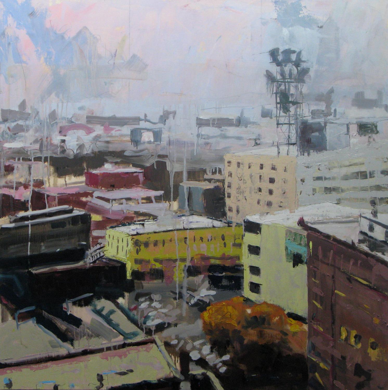 Urban Landscape   Bill Sharp - paintings (obsolete)