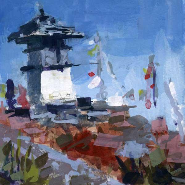 stupa-square-gouache